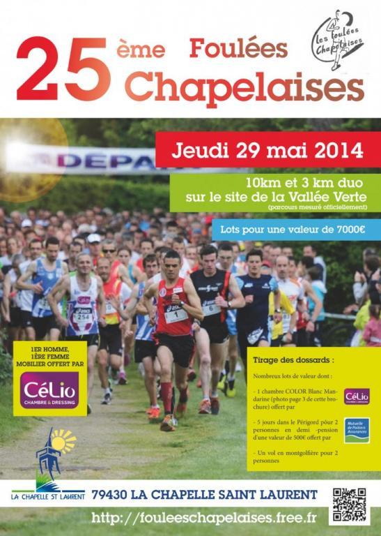 Brochure 2014 Foulées Chapelaises
