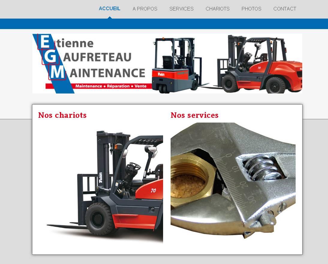 Site Internet EGM