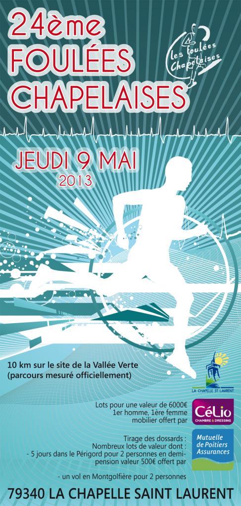 brochures foulées chapelaises 2013