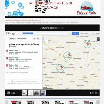 Site Internet Palace auto