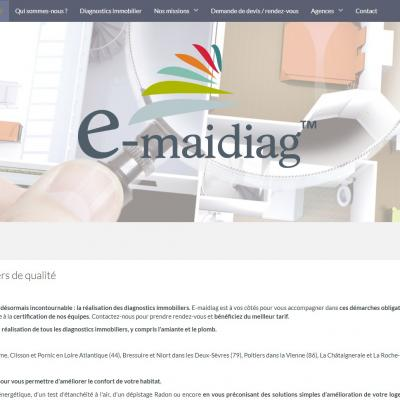 Site Internet E-maidiag