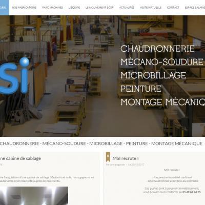 Site web MSI